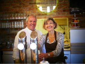 Leo und Maria Wittner im Cafe wittnerhof bei der Viel.Gut.2019.